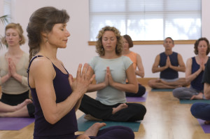 Meditation in stress relief